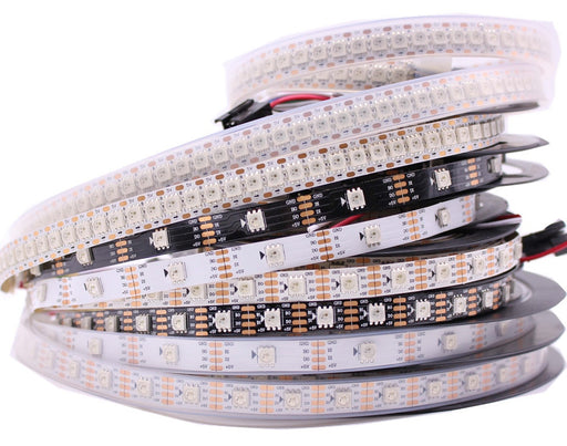 Range of WS2813 Addressable RGB LED Strip from PMD Way with free delivery worldwide