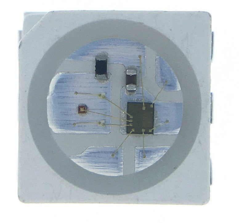 WS2813 RGB LEDs in black and white enclosures and various pack sizes from PMD Way with free delivery worldwide