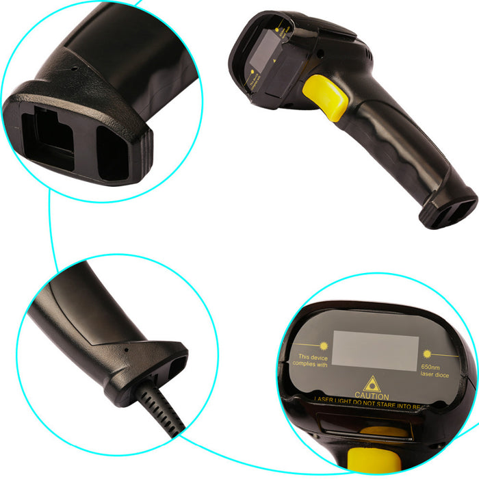 Great value Wired USB Laser Barcode Scanner for POS and more from PMD Way with free delivery, worldwide