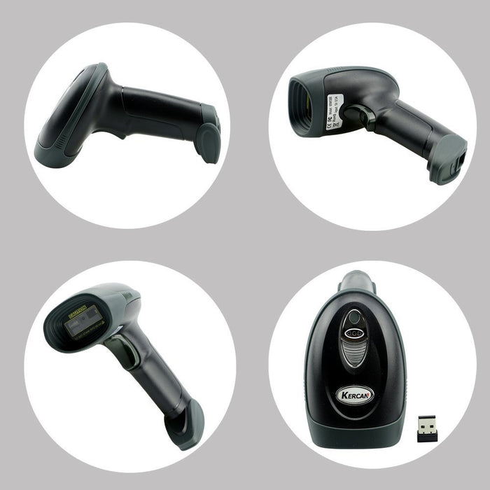 Incredibly versatile Wireless and USB CCD Barcode QR Code Scanner with Bluetooth or 2.4 GHz or USB from PMD Way with free delivery, worldwide
