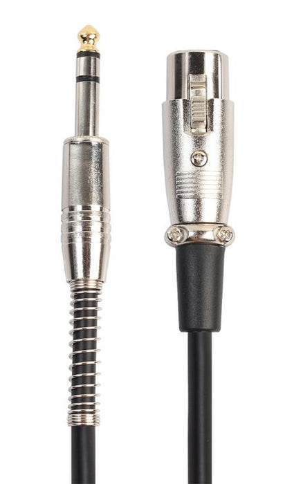 Useful XLR Female to 6.35mm Stereo Plug Balanced Cable from PM D Way with free delivery worldwide