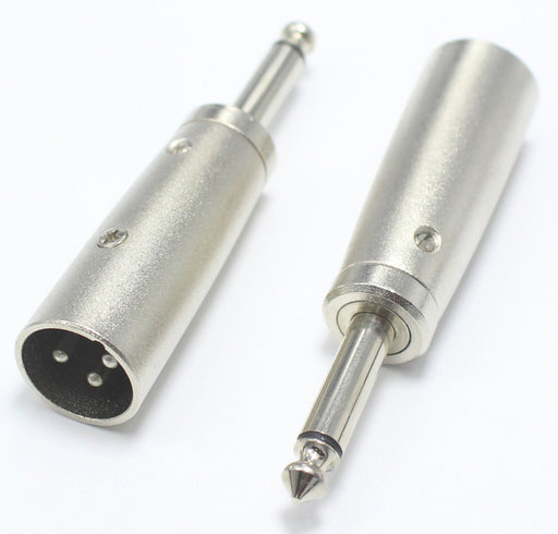 Quality XLR Male to 6.35mm Plug Adaptor from PMD Way with free delivery worldwide