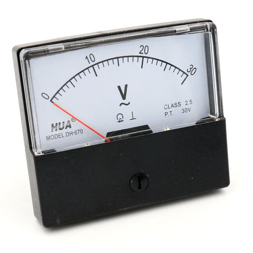 DH-670 Analog AC 30V Voltmeter from PMD Way with free delivery worldwide