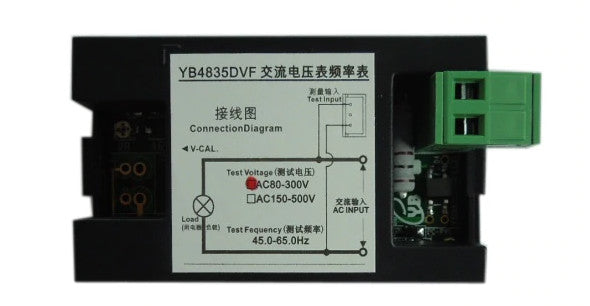 Great value Dual AC Voltage and Frequency LCD Panel Meter from PMD Way with free delivery worldwide