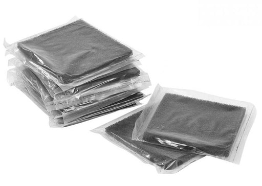 Activated Carbon Filters - 13 x 13cm - 10 Pack from PMD Way with free delivery worldwide