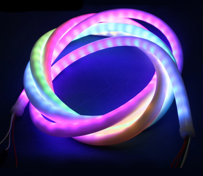 Addressable RGB LED Neon Rope Light with SK6812 or WS2811 from PMD Way with free delivery worldwide