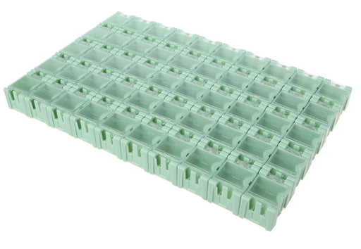 Antistatic Modular Snap Boxes for SMD storage in packs of 50 from PMD Way with free delivery worldwide