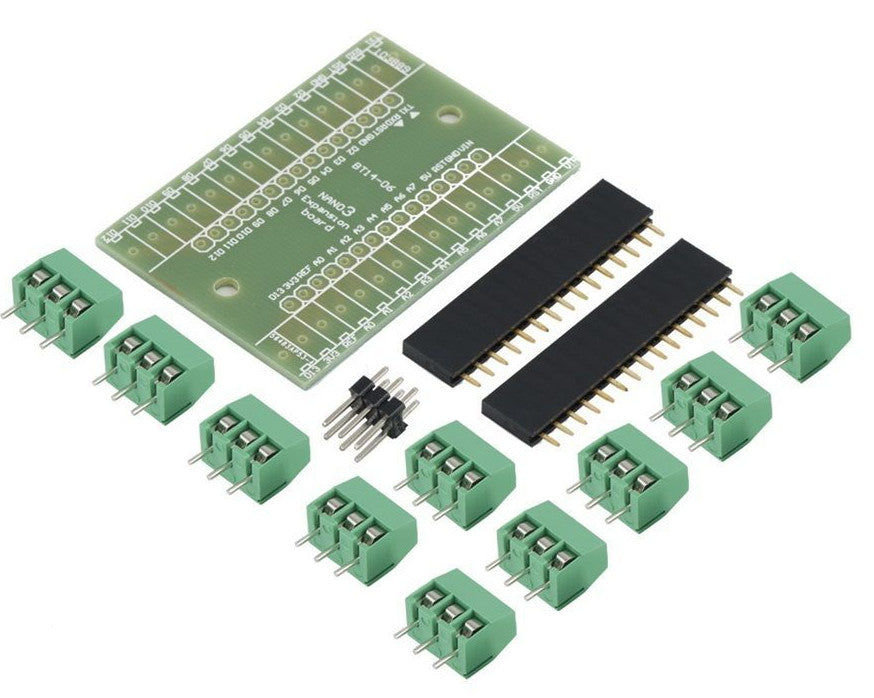 Great value Arduino Nano Terminal Shield Kit from PMD Way with free delivery, worldwide