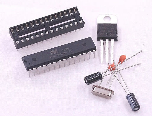 Microchip ATmega328P-PU DIP28 Microcontroller with Arduino Bootloader and parts from PMD Way with free delivery, worldwide