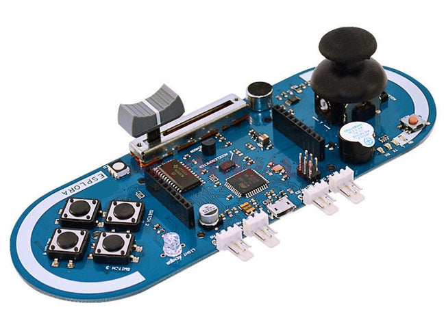 Make and play 8-bit games with the Arduino Esplora Compatible Handheld Game Development Board from PMD Way with free delivery, worldwide