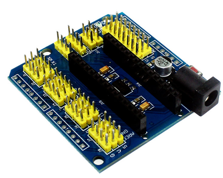 Rapid prototyping with the Expansion Shield for Arduino Nano v3.0 from PMD Way with free delivery, worldwide