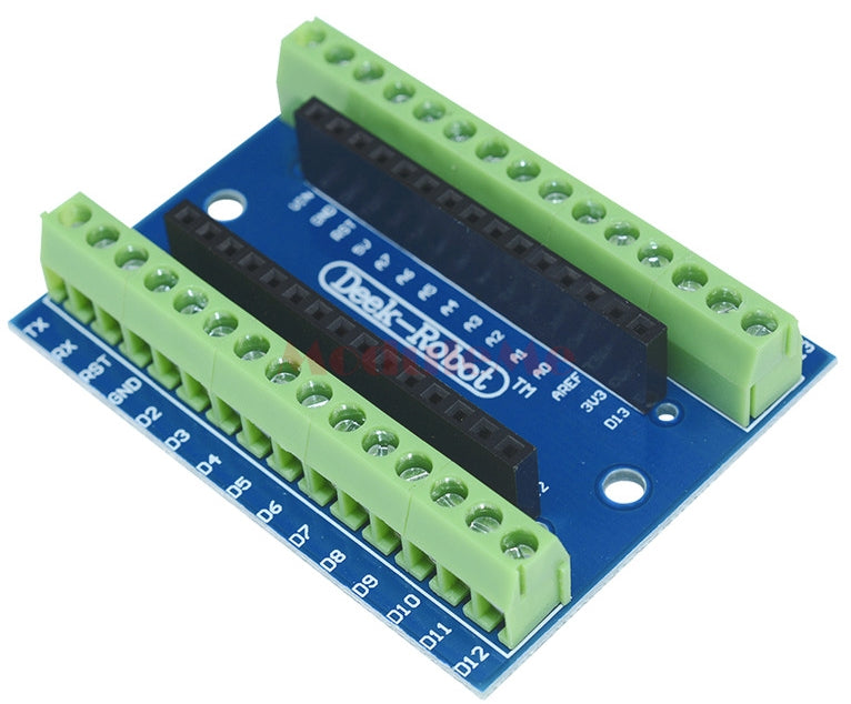 Useful Arduino Nano Terminal Shield from PMD Way with free delivery, worldwide