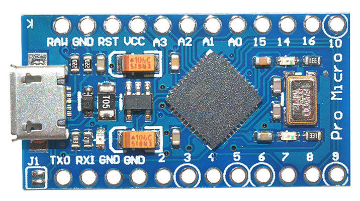 Packet of 10 Arduino Pro Micro Compatible Boards from PMD Way with free delivery, worldwide