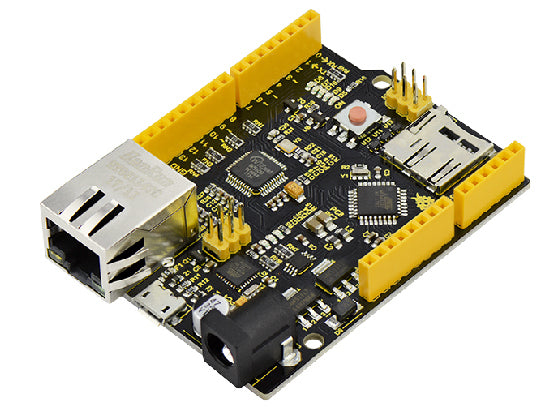 100% Arduino Uno R3 Compatible with W5500 Ethernet and microSD Socket from PMD Way - with free delivery, worldwide