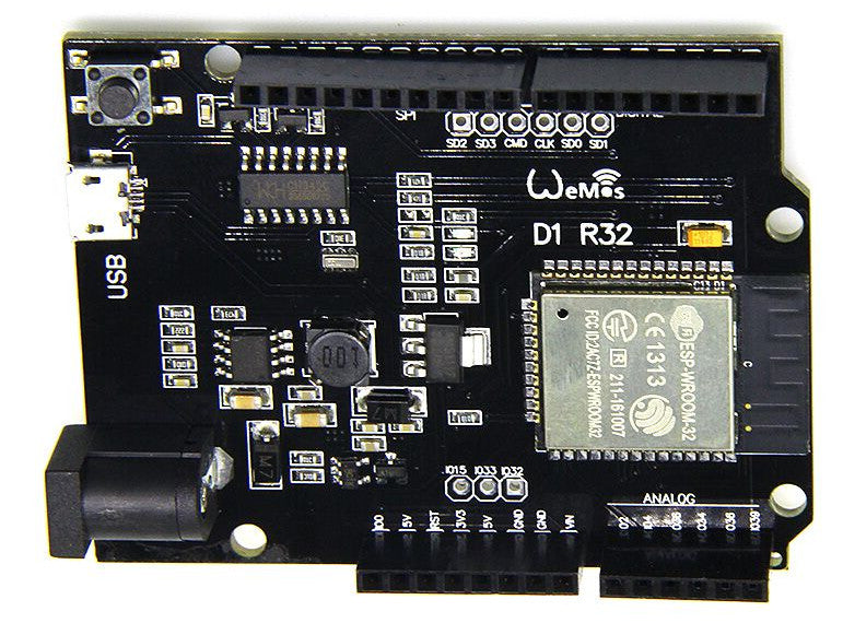 Arduino Uno R3 Compatible powered by ESP32 WiFi and Bluetooth Microcontroller from PMD Way - with free delivery, worldwide
