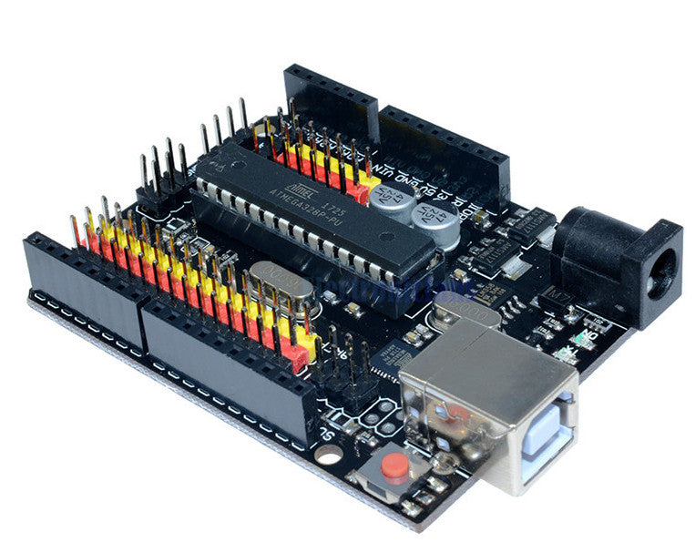 Arduino Uno R3 Compatible with Extra I/O Connections from PMD Way with free delivery, worldwide