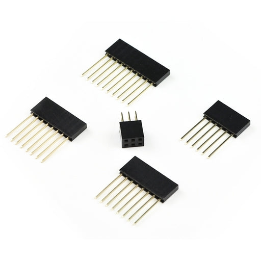 Shield stacking headers for Arduino Uno (R3 Compatible) - 10 Sets from PMD Way with free delivery worldwide