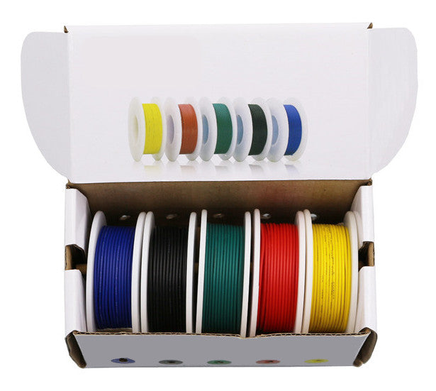 Hook Up Wire Five Color Packs - Various Sizes from PMD Way with free delivery worldwide