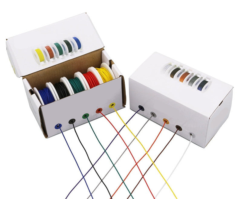 Hook Up Wire Five Color Packs - Various Sizes