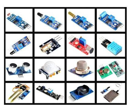 Great value Assorted Sensor Module Box - 16 in 1 from PMD Way with free delivery worldwide