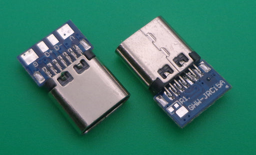 USB 3.1 Type C Female Basic Breakout Boards in packs of five from PMD Way with free delivery worldwide