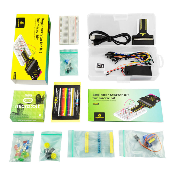 Learn coding and electronics with the Beginner Starter Kit for BBC micro:bit from PMD Way with free delivery, worldwide