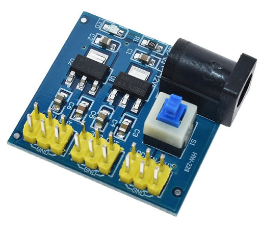 Experimenter's 12V to 3.3V 5V 12V DC Converter from PMD Way with free delivery worldwide