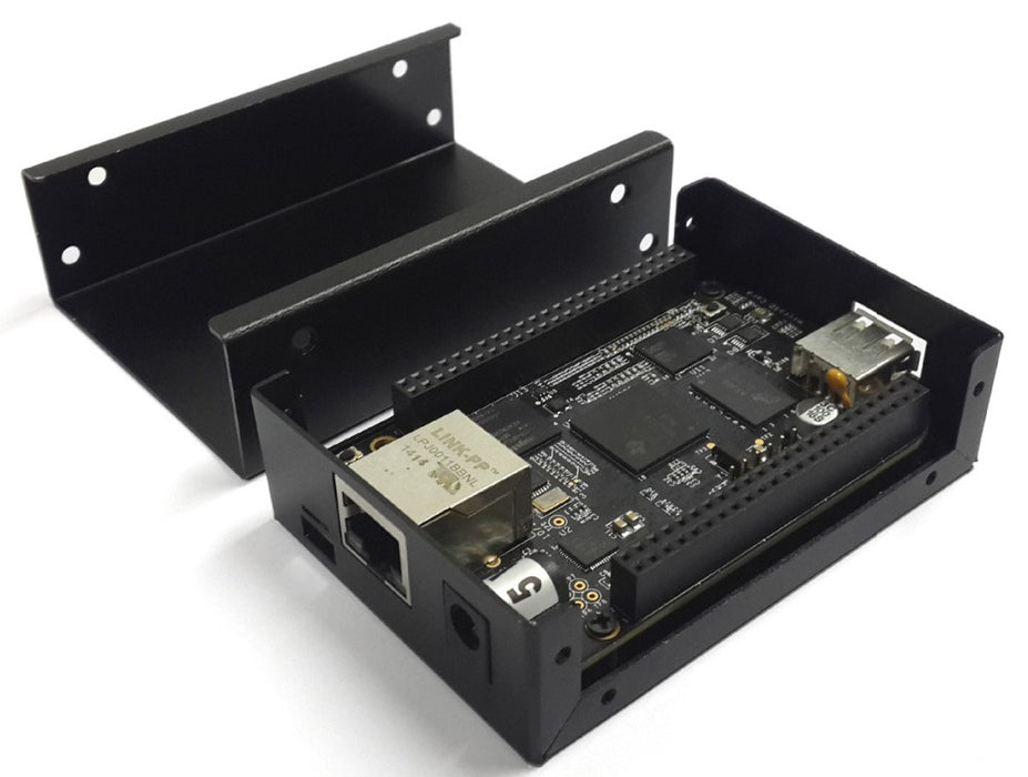Strong and great value Black Metal Enclosure for BeagleBone Black from PMD Way with free delivery, worldwide
