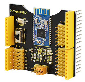 Interface your mobile device to Arduino with a Bluetooth 4.0 Shield R3 for Arduino from PMD Way - with free delivery, worldwide