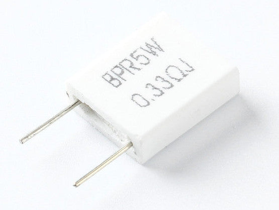 5W Ceramic Non-Inductive BPR56 Ceramic Resistors in packs of ten from PMD Way with free delivery worldwide