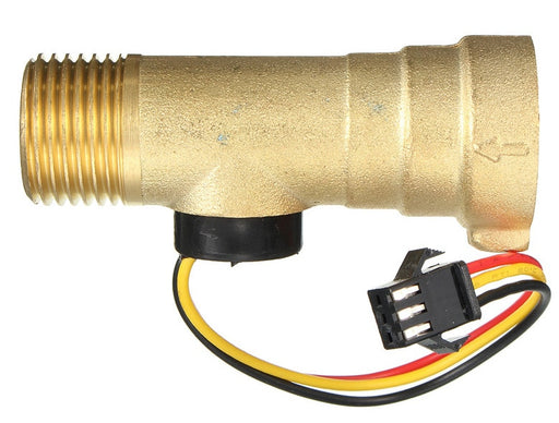 "Liquid Flow Meter - Brass 1/2"" Nominal Threaded from PMD Way with free delivery worldwide"