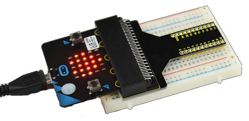 Connect your BBC micro:bit to a solderless breadboard with this Breadboard Adaptor from PMD Way with free delivery, worldwide