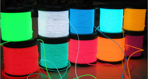 Bulk 2.3mm EL Wire - Choice of Ten Colours - Up to 500m from PMD Way with free delivery worldwide