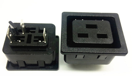 IEC C19 and C20 Panel Mount Connectors from PMD Way with free delivery worldwide