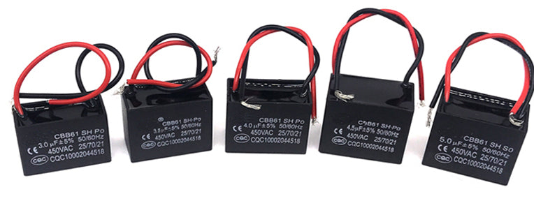 Quality CBB61 450V AC Motor Start Capacitors from PMD Way with free delivery worldwide