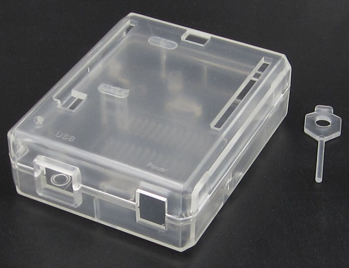Quality Transparent ABS Plastic Enclosure for Arduino Uno R3 from PMD Way with free delivery, worldwide