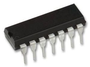 4001 Quad 2 Input NOR Gate CMOS Logic ICs in packs of five from PMD Way with free delivery worldwide
