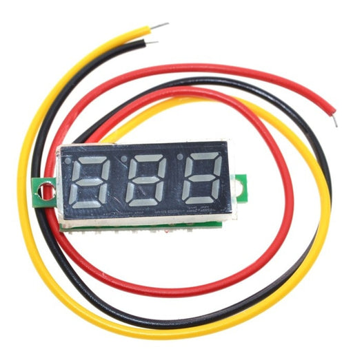"Compact 0.28"" 0-100V Digital Voltmeters from PMD Way with free delivery worldwide"