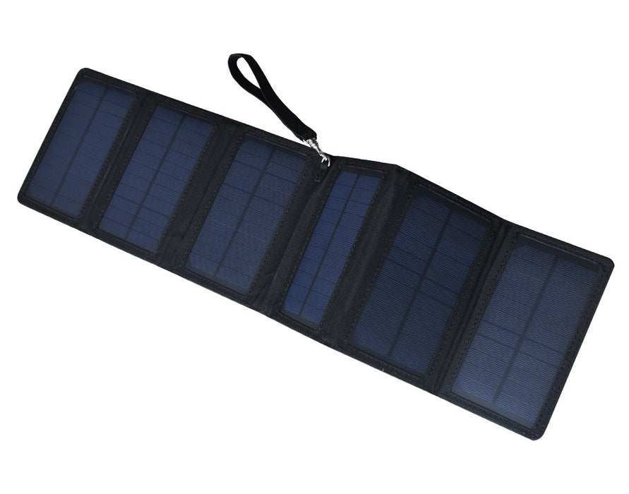 Power your USB device using energy from the sun with this compact folding 10W Solar Power USB Supply from PMD Way with free delivery worldwide