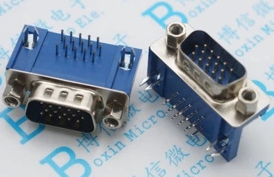 DB15 VGA PCB Mount Connector - 10 Pack from PMD Way with free delivery worldwide