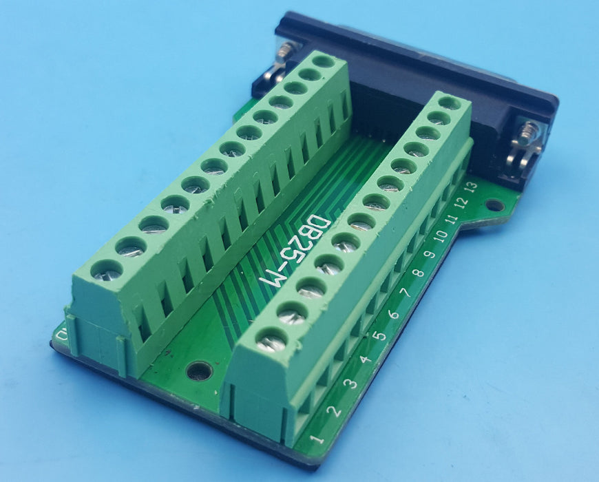 Convenient DB25 Female Breakout Board for custom cabling and more from PMD Way with free delivery worldwide