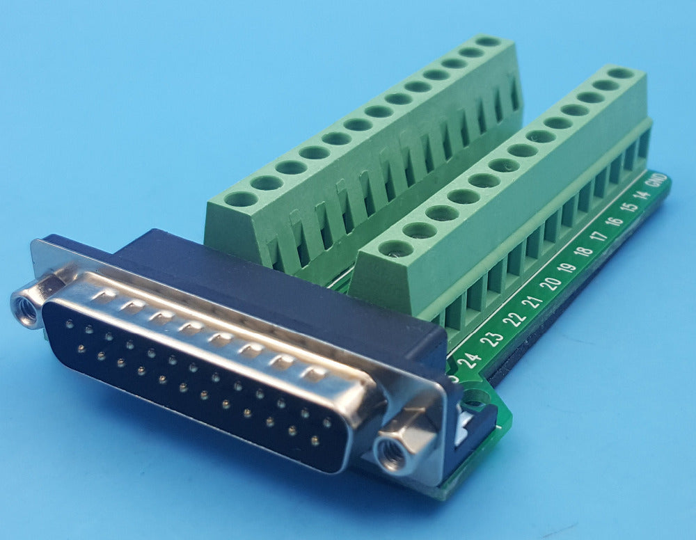 Convenient DB25 Male Breakout Board from PMD Way with free delivery, worldwide