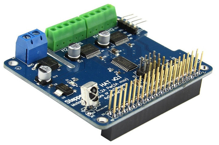 DC and Stepper Motor HAT for Raspberry Pi from PMD Way with free delivery worldwide