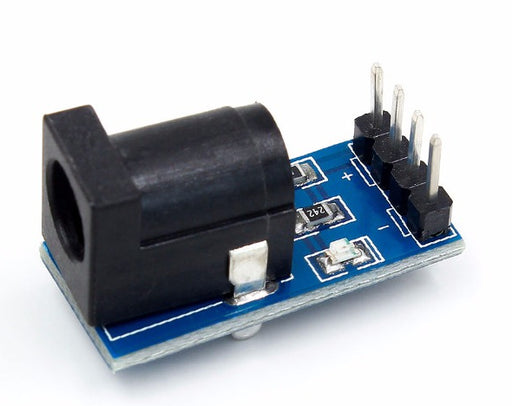 Easily tap into DC power sockets with this convenient breakout board from PMD Way.