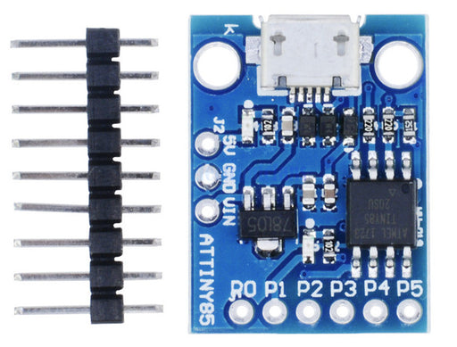 Tiny Digispark Compatible ATtiny85 Development Board with USB socket in packs of ten from PMD Way with free delivery, worldwide