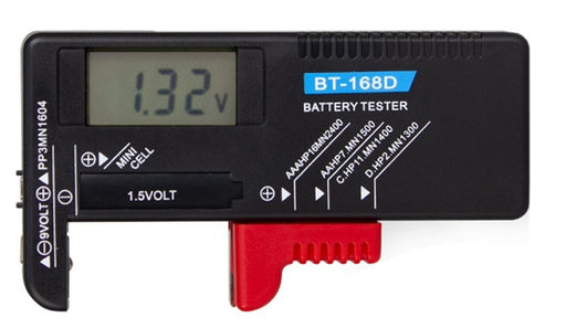 Universal Digital Disposable Battery Tester from PMD Way with free delivery worldwide