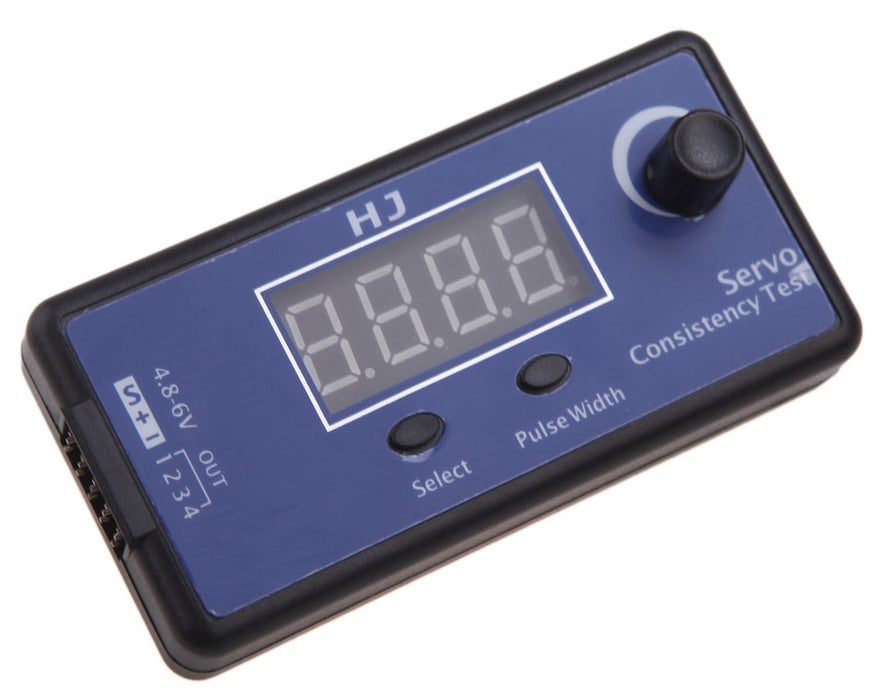 Digital Four Channel Servo Tester from PMD Way with free delivery worldwide