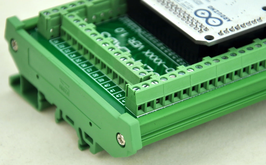 Great value DIN Rail Screw Terminal Block for Arduino Mega R3 from PMD Way with free delivery, worldwide