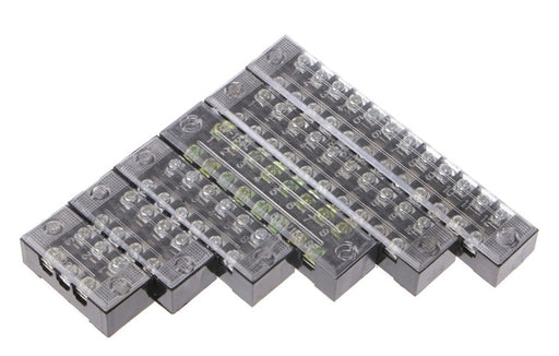 Dual Row 600V Terminal Blocks from PMD Way with free delivery worldwide