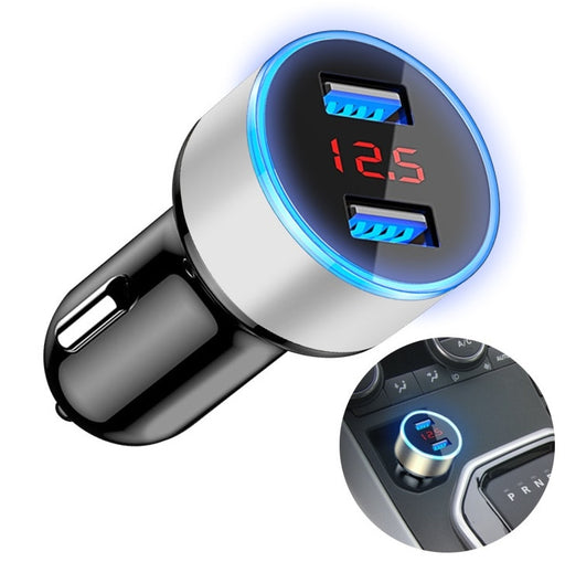 Dual Fast USB Car Charger from PMD Way with free delivery worldwide